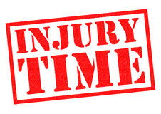 INJURY TIME Stock Images