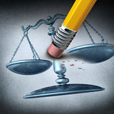 Injustice And Discrimination Royalty Free Stock Photo