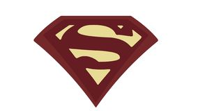 Injustice:Gods Among Us 2013. Superman S symbol logo from Injustice: Gods Among Us 2013 vector illustration