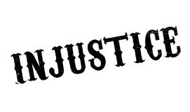 Injustice rubber stamp Stock Photos