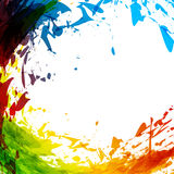 Ink abstract Royalty Free Stock Photo