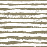 Ink abstract strips seamless pattern. Background with artistic s Stock Photos