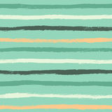 Ink abstract strips seamless pattern. Background with artistic s Royalty Free Stock Photography