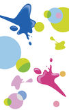 Ink background Stock Images