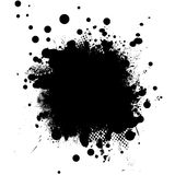 Ink black rnd Stock Photography