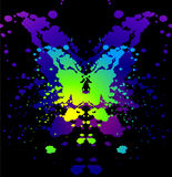 Ink blot Stock Image