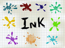 Ink Blots Royalty Free Stock Image
