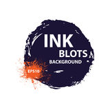 Ink blots background Stock Photography