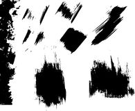 Ink blots grunge Royalty Free Stock Image