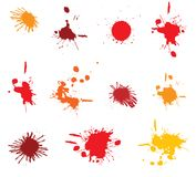 Ink blots Royalty Free Stock Photo