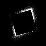 Ink blots square background Stock Photography