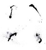 Ink blots Royalty Free Stock Photos