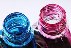 Ink bottles Stock Image