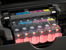 Free Ink Cartridges Stock Photography - 2750282