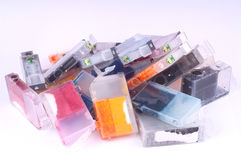 Ink Cartridges Royalty Free Stock Photography
