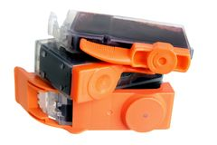 Ink Cartridges Royalty Free Stock Images