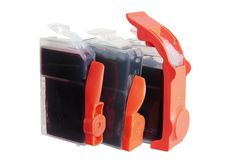Ink Cartridges Royalty Free Stock Photo