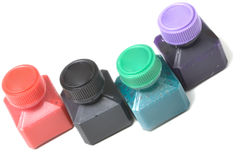 Ink color Royalty Free Stock Photo