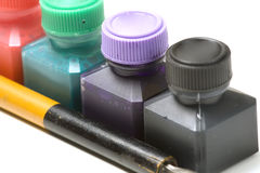 Ink color royalty free stock images