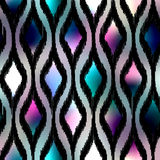Ink fabric pattern Royalty Free Stock Photo