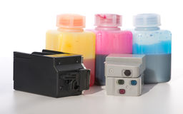 Ink-jet cartridge Stock Images