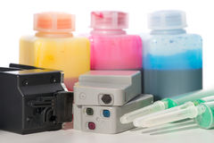 Ink-jet cartridge Royalty Free Stock Photography