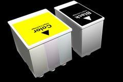 Ink Jet Cartridges (3D). Photo of Ink Jet Cartridges (3D royalty free illustration