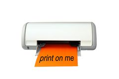 Ink Jet Color Printer Stock Photos