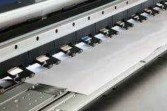 Ink jet printer Detail Royalty Free Stock Images