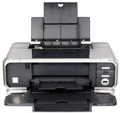 Ink-jet printer front view Stock Photography