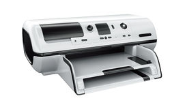 Ink-jet printer isolated Stock Photography