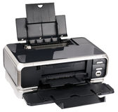 Ink-jet printer isometric view Stock Photo