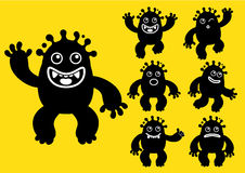 Ink / Liquid Monster Character Stock Photos