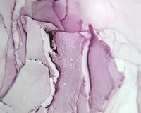 Ink, paint, abstract. Closeup of the painting. Colorful abstract painting background. Highly-textured oil paint. High quality deta. Ils. Alcohol ink modern Stock Image