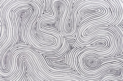 Ink On Paper Curved Lines Background Royalty Free Stock Photos