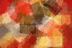 Ink pattern illustration Stock Image