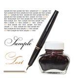 Ink pen Royalty Free Stock Photo