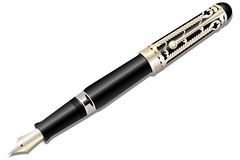 Ink pen. Royalty Free Stock Image