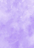 Ink purple watercolor texture paper background Royalty Free Stock Images