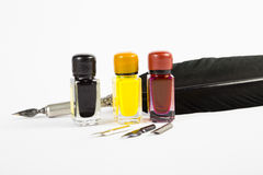Ink and Quill Stock Image