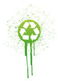 Ink recycle symbol illustration design Stock Images