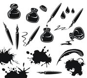 Ink Set Royalty Free Stock Image