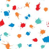 Ink splash collection vector hand drawn illustration stock photography