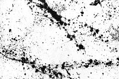 Ink splashes stock illustration