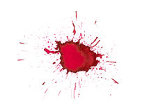 Ink splashes Royalty Free Stock Image