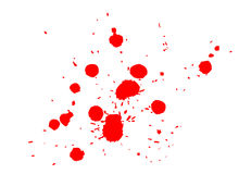 Ink splat Royalty Free Stock Photo