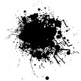 Ink splat blob Stock Photos
