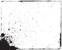 Ink splat grunge Royalty Free Stock Photography