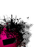 Ink splat red Royalty Free Stock Image
