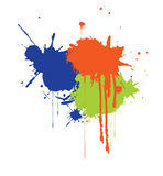 Ink splat Stock Photography